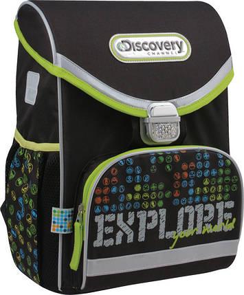 Рюкзак школьный каркасный 13 л Discovery, KITE (Германия), фото 2