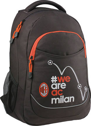 Рюкзак молодежный 23 л FC Milan, KITE (Германия), фото 2