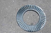 Шайба контактная рифленая