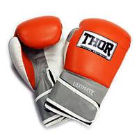 Перчатки боксерские Thor - Ultimate 551/04 OR/GR/WH (10 oz), фото 1