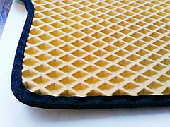 Eva-килимки для вантажівки Renault PREMIUM 1-2 чорні(7139)
