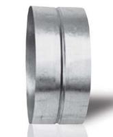 Соединитель для воздуховодов d 248 мм из оцинкованной стали