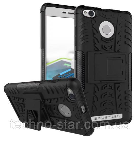Бронированный чехол (бампер) для Xiaomi Redmi 3 | 3 Pro | 3s | 3s Pro | 3s Prime | 3x