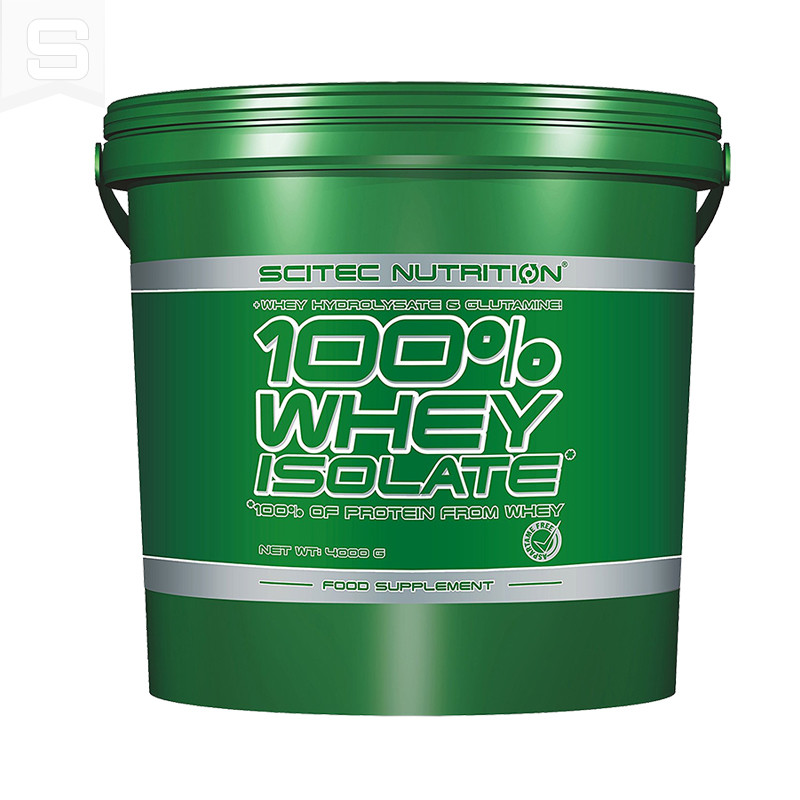 Scitec Nutrition 100% Whey Protein Isolate 4 kg