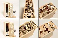 Коробки из дерева как красивый и функциональный сувенир