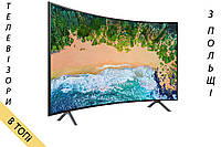 Телевизор SAMSUNG UE49NU7372 Smart TV UHD/4K 1400Hz T2 S2   Изогнутый Экран   из Польши 2018 год