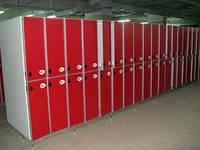 Шкафчики для раздевалок дсп