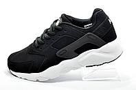 Кроссовки подростковые в стиле Nike Air Huarache, Black\White (Унисекс)