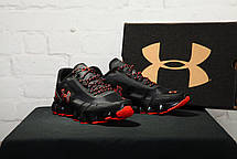 Чоловічі кросівки Under Armour UA Scorpio Running Shoes Black/Orange, фото 2