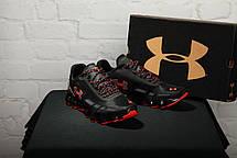 Чоловічі кросівки Under Armour UA Scorpio Running Shoes Black/Orange, фото 3