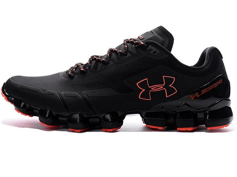 Чоловічі кросівки Under Armour UA Scorpio Running Shoes Black/Orange