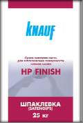 KNAUF  Izogips НР Finish шпаклівка гіпсова фінішна, 25 кг