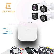 Комплект видеонаблюдения Full HD уличный KIT-CV4FHD-4B, фото 2