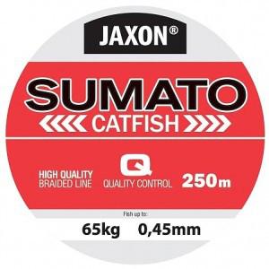 Плетёнка Jaxon Sumato Cat Fish 0.40 250m разрыв.нагрузка 50кг