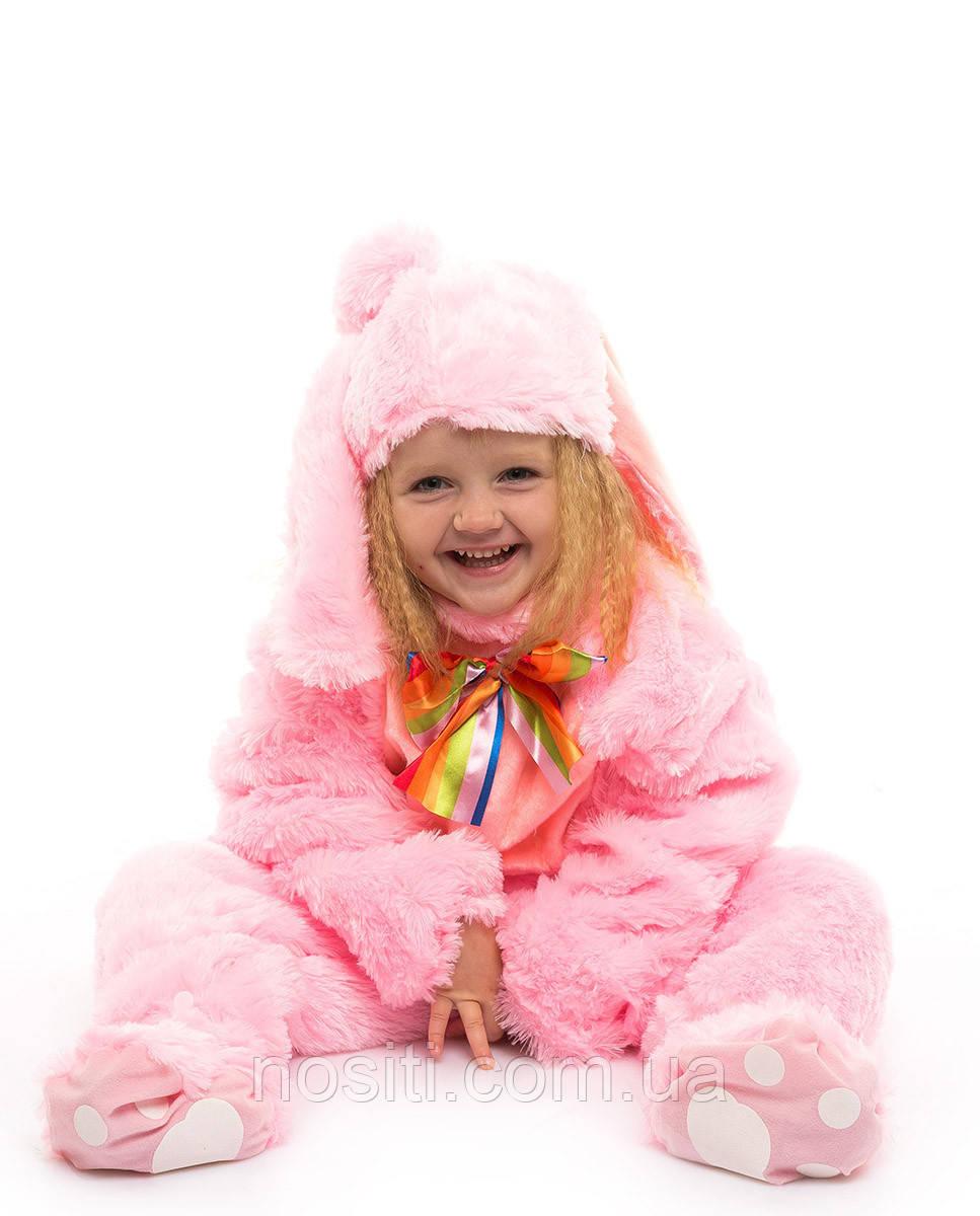 Костюм Зайчика для малыша розовый