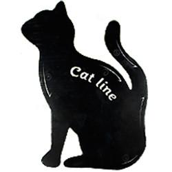 SA Макияж трафареты для подводки глаз Cat Line (1шт) А