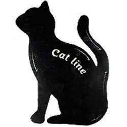 SA Макияж трафареты для подводки глаз Cat Line (1шт) А, фото 2