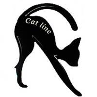 SA Макияж трафареты для подводки глаз Cat Line (1шт) В
