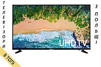 Телевизор SAMSUNG UE43NU7022/7092 Smart TV 4K/UHD 1300Hz T2 S2   из Польши 2018 год