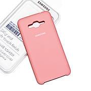 Силиконовый чехол на Samsung G530/G531H Grand Prime Soft-touch Pink
