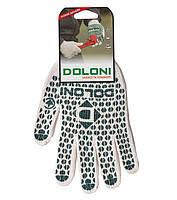 Перчатки рабочие. Перчатки трикотажные с ПВХ точкой Doloni, №547