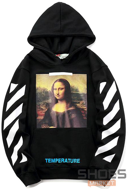 Худи Off-white Mona Lisa Black (ориг.бирка)