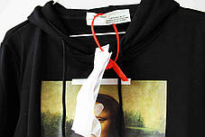 Худи Off-white Mona Lisa Black (ориг.бирка), фото 2