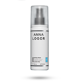 Тонік-зволожуючий спрей для всіх типів шкіри Anna Logor Shuttle Spray 120ml Art.602