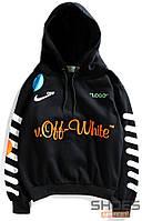 Худи Off-white x Nike Black (ориг.бирка)