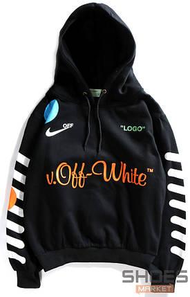 Худи Off-white x Nike Black (ориг.бирка), фото 2