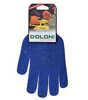 Перчатки рабочие. Перчатки трикотажные с ПВХ точкой Doloni, №646, фото 1