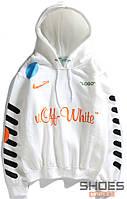 Худи Off-white x Nike White (ориг.бирка)