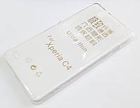 Чохол для Sony Xperia C4 dual E5303 / E5333 силіконовий ультратонкий прозорий