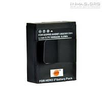 Аккумулятор AHDBT-301 для видеокамеры GoPro Hero 3 , Hero 3+, 1600 mAh.