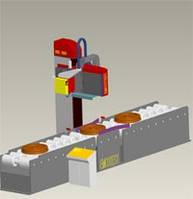Концептуальная система измерения твердости горизонтального типа без модуля пробоподготовки