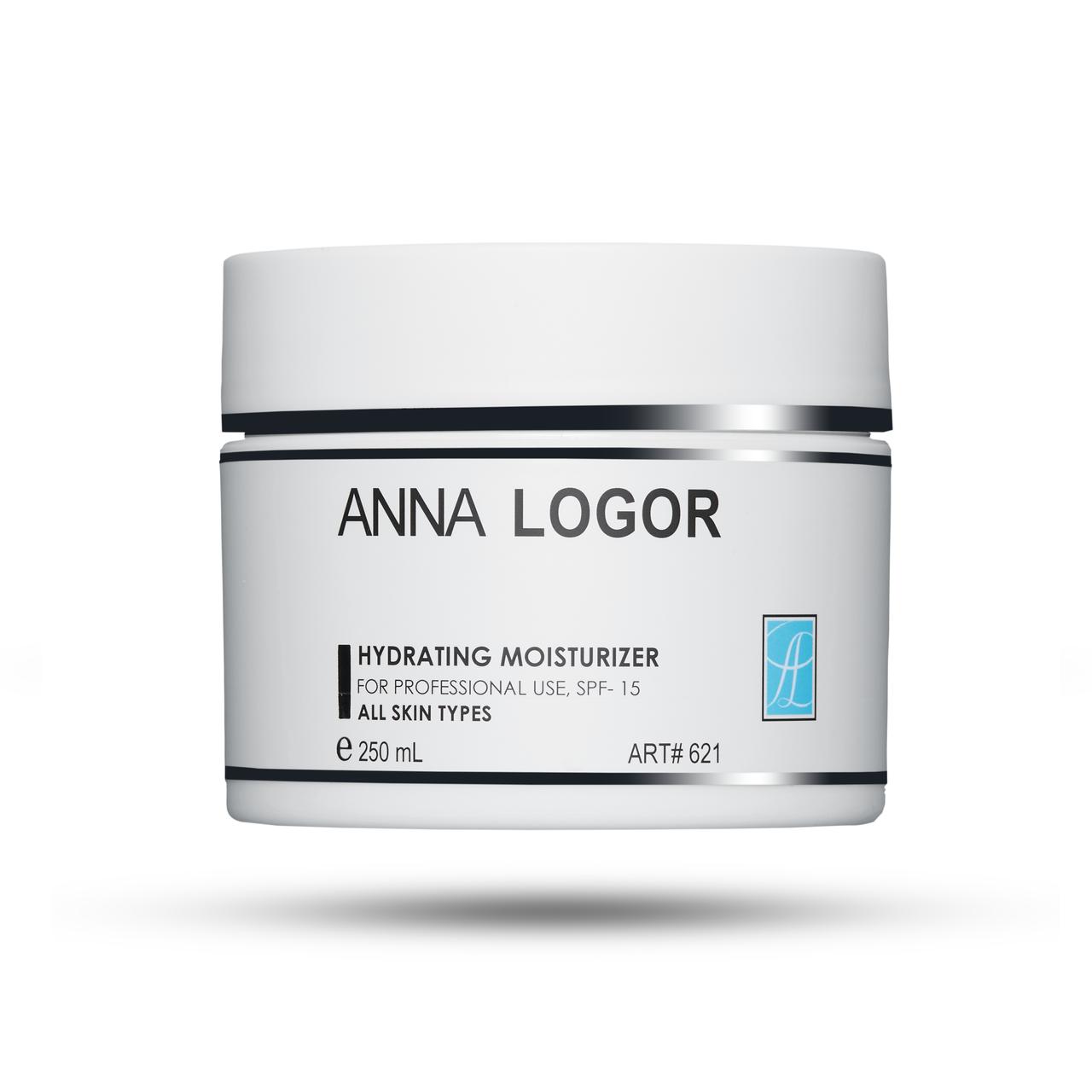 Крем увлажняющий для всех типов кожи Anna LOGOR Hydrating Moisturizer 250 мл Art.621