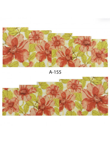 Слайдер-дизайн для ногтей A-155 6.2*5.2 см