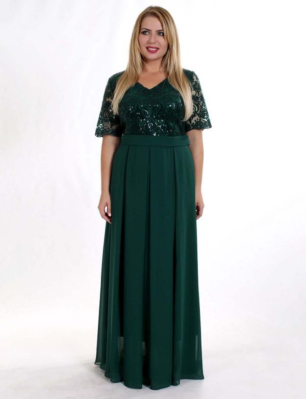 0d85696afbe Нарядное вечернее платье с кружевом в пол. - Модный магазин в Киевской  области