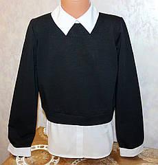 Школьная кофта на девочку Toontoy (обманка) 10,11,12,13 лет