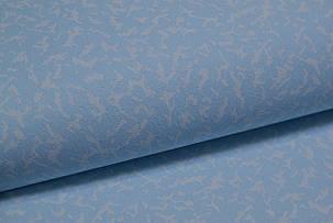 Обои, обои на стену, дуплексные, голубые, однотонные, 2576-4, 0,53*10м, фото 2