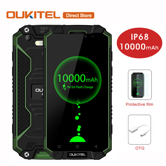 ddc739021f28c OUKITEL K10000 Max 5,5 дюймов смартфон с мощным аккумулятором 10000мAh -  Rov-mobile