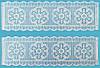 Текстурный мат для гибкой глазури SUGARVEIL размер 27х40см(код 00514)