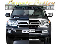 Рестайлинг комплект в 2012 м.г. TOYOTA Land Cruiser 200