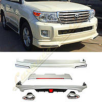 Обвес SPORT для TOYOTA Land Cruiser 200 2012-16