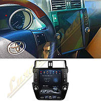 Монитор стиль Tesla для Toyota Land Cruiser Prado 150