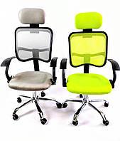 Компьютерное кресло офисное Ergo D05 green, фото 1