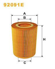 Фильтр масляный DAF CF 75 - XF 95, DB ОЕ 1397764 92091E / OE676 WIX-Filtron 92091E