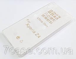 Чехол для Sony Xperia Z3+ / Xperia Z4 E6553 силиконовый ультратонкий прозрачный