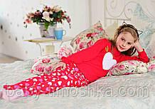 Піжама для дівчаток 110-116 см