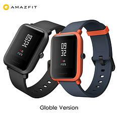 Смарт-годинник Xiaomi Huami Amazfit Bip Black Onyx російська мова